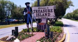 Beach South Treasure Island
