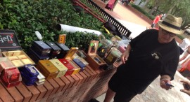 Dr. August J. Mauser, owner, AJ's Cigars to Go of Tampa