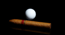 Cigars and Golf, a Natural Twosome